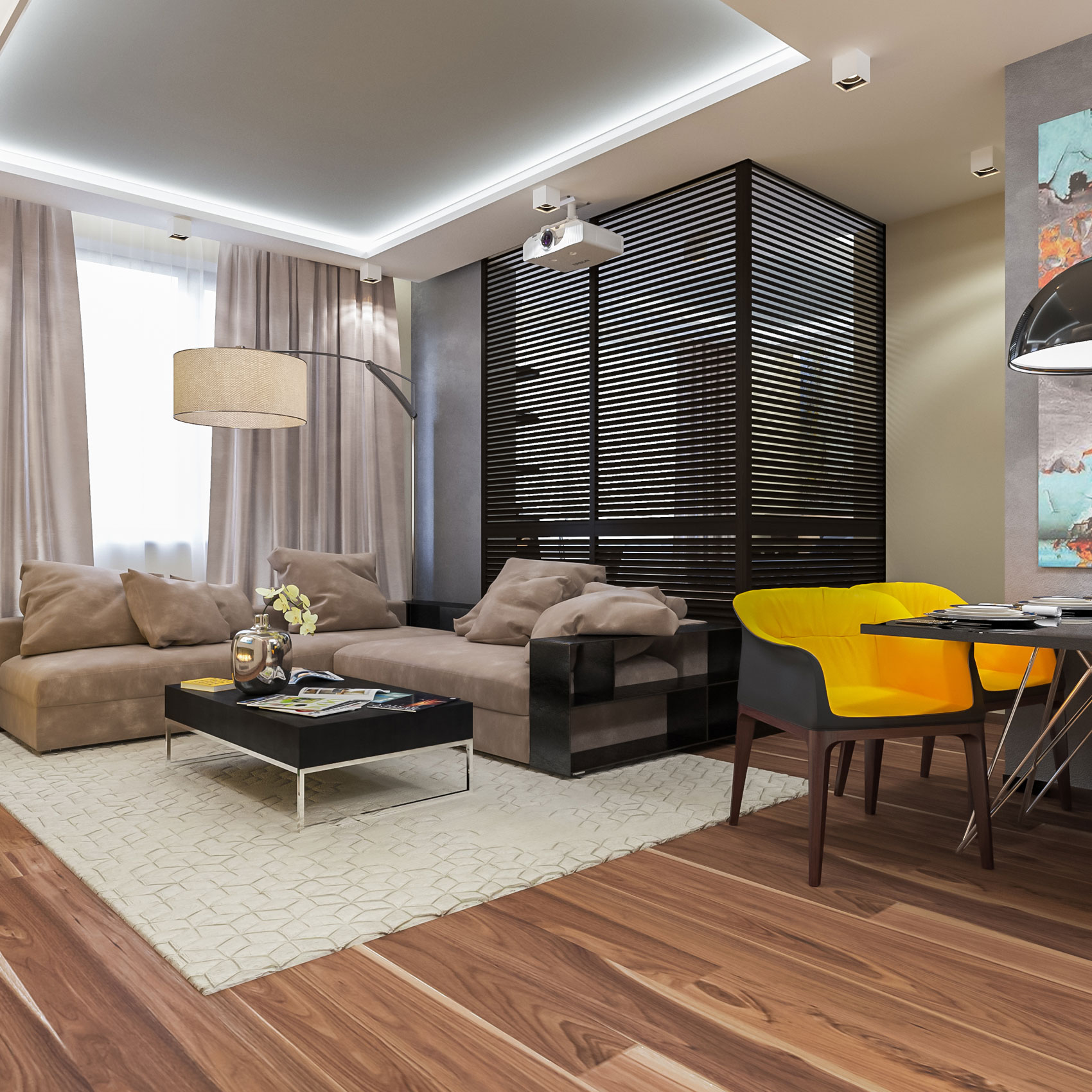 Apartment In Moscow By Interierium