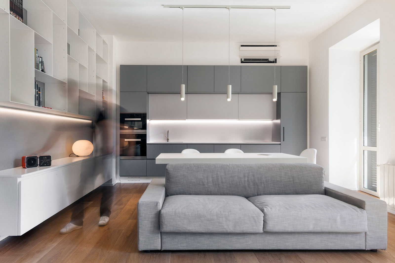 Luca Peralta Studio Design A Minimalist Apartment In The