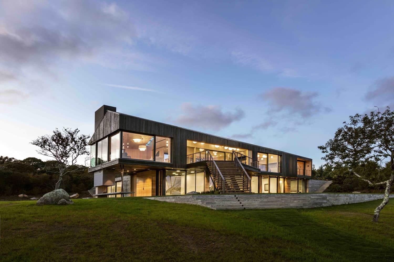 Beautiful Structure Located In Chilmark Massachusetts Designed For Gray Organschi Architecture