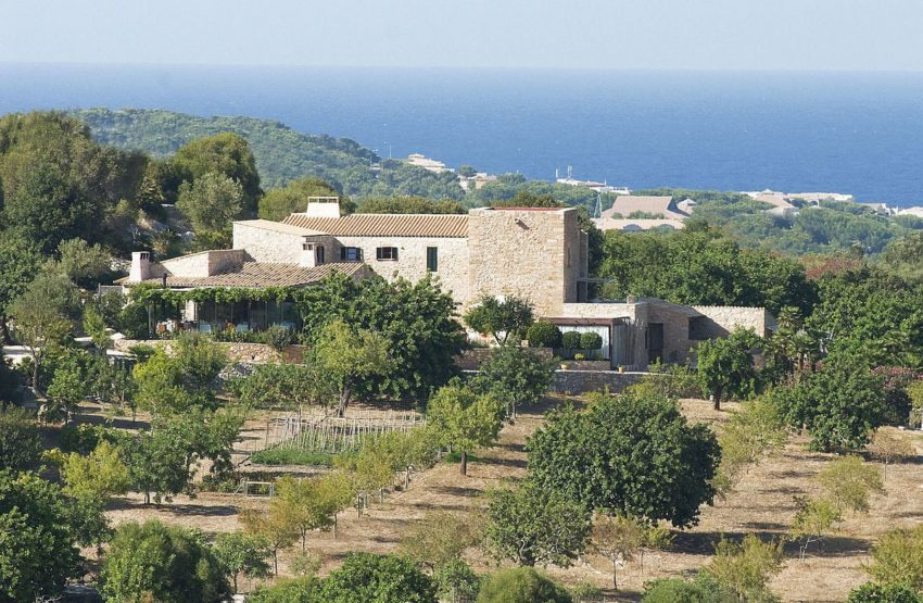 Cases de Son Barbassa 01 850x555 Stunning Luxury Hotel Located in the Natural Park of Levant in the East of Mallorca, Balearic Islands, Spain