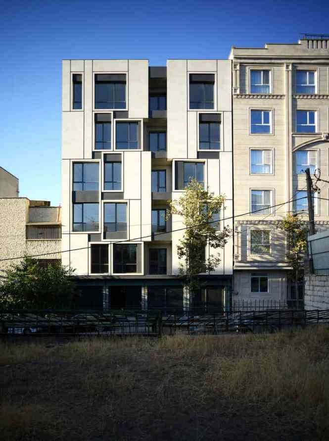 Bright Apartments In Tehran Iran