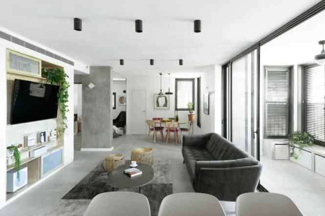 Modern Urban Apartment In Tel Aviv Created By Studio Perri Interior Design From A Previously Untouched 1970s