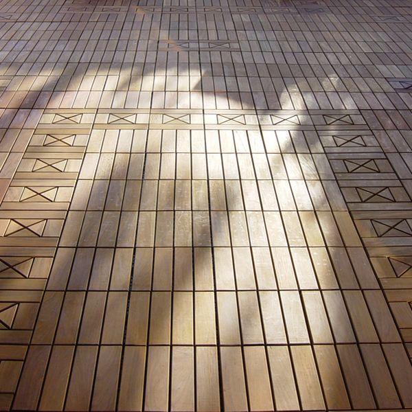 ipe outdoor deck tiles