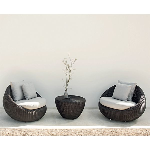 point bubble chair modern outdoor