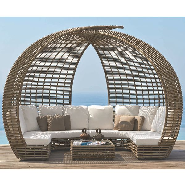 Skyline Design, Sparta, Outdoor, dining, wicker, table ... on Sparta Outdoor Living id=39781