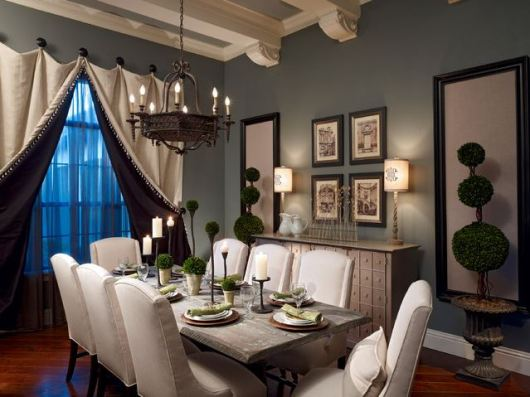 Colourful Dining Room