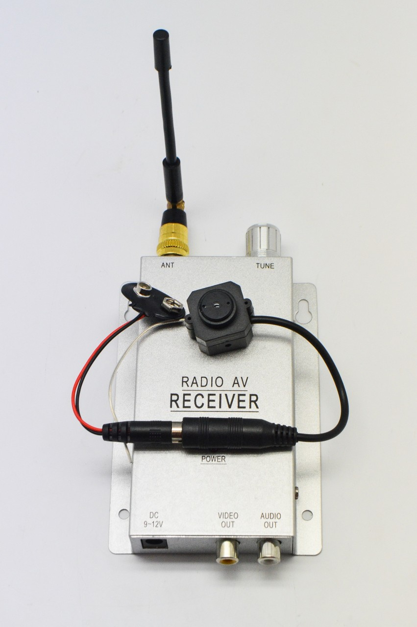 Wireless Security Microphone