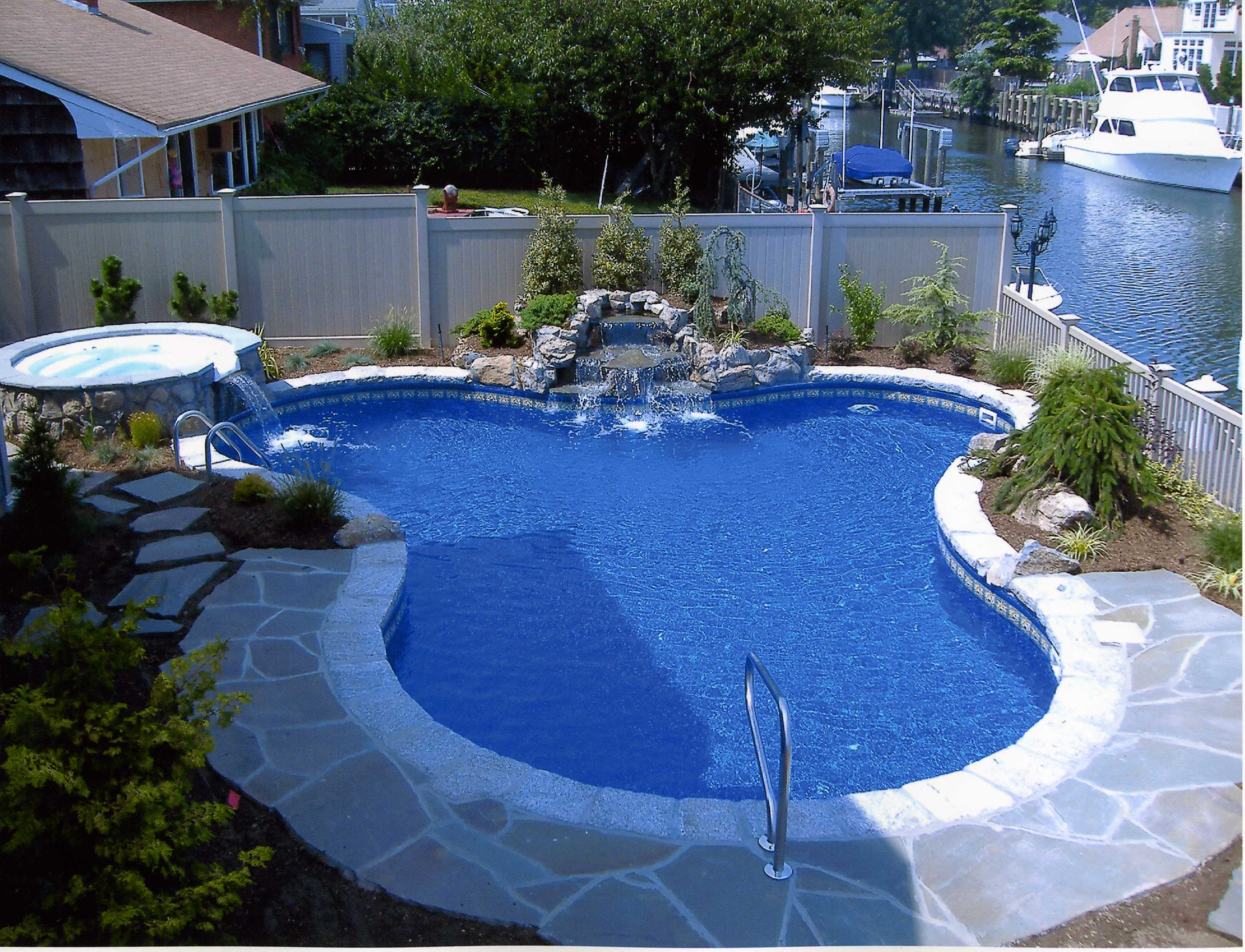 Backyard Landscaping Ideas-Swimming Pool Design ... on Backyard Pool Landscape Designs id=91418
