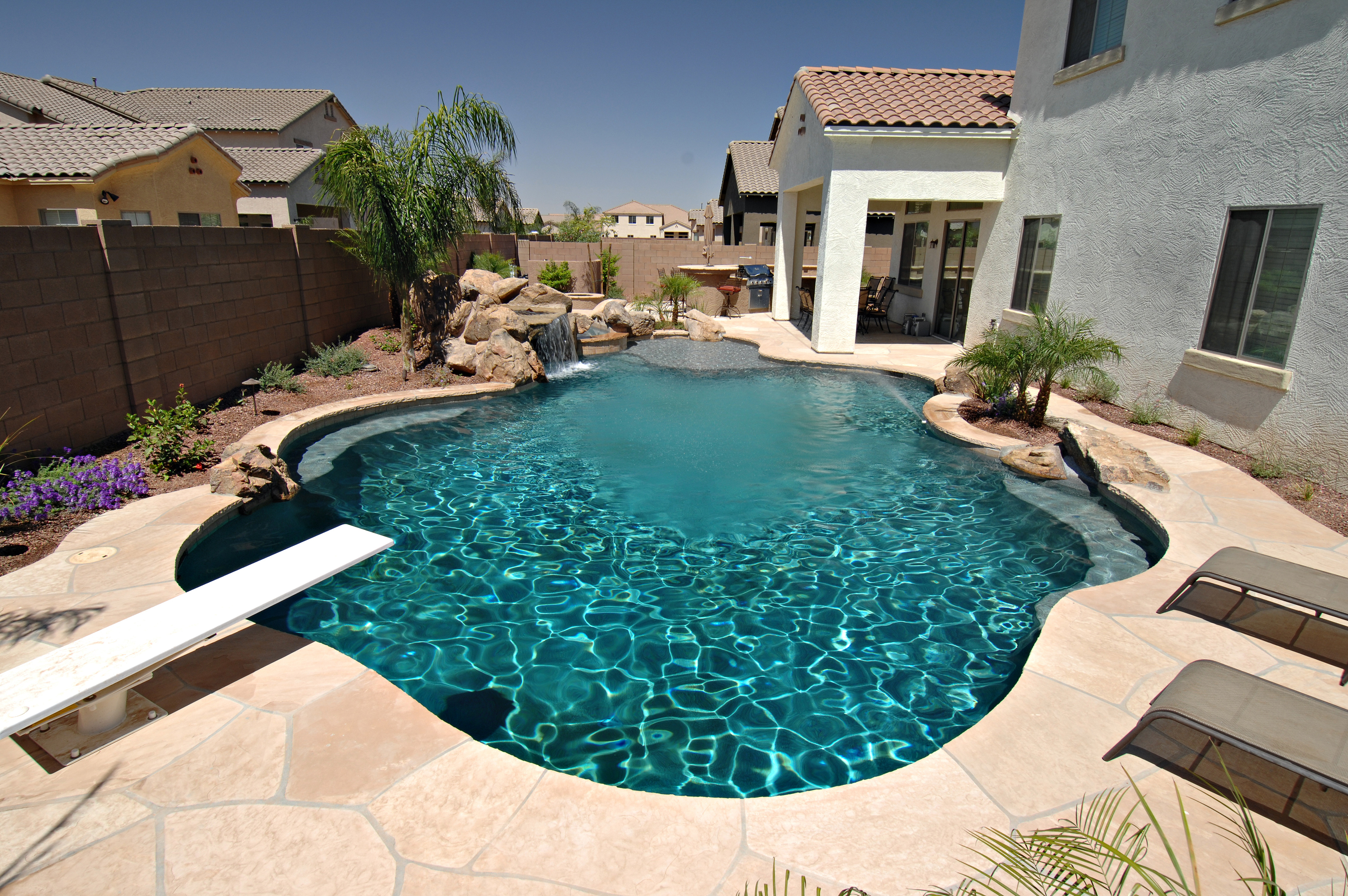 Backyard Landscaping Ideas-Swimming Pool Design ... on Backyard Pool Landscape Designs id=25604