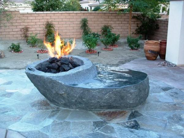 outdoor fire pit patio design ideas Backyard Landscaping Ideas-Attractive Fire Pit Designs