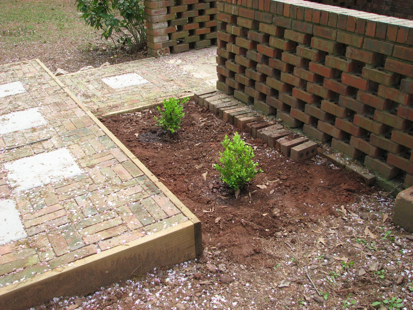 Backyard Landscaping Ideas-The Process of Building a Patio ... on Build Backyard Patio id=58152