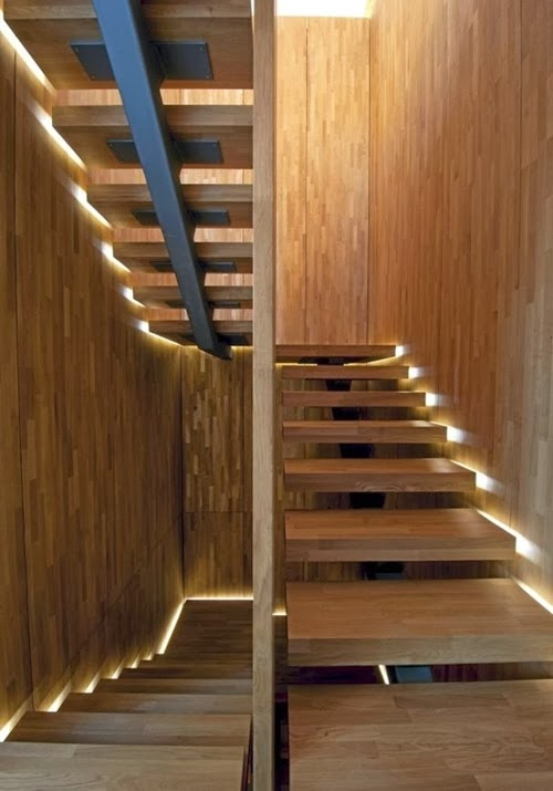 30 Different Wooden Types Of Stairs For Modern Homes