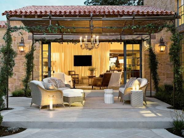 outdoor patio living room 20 Amazing Finds That Will Enhance Your Outdoor Living Spaces