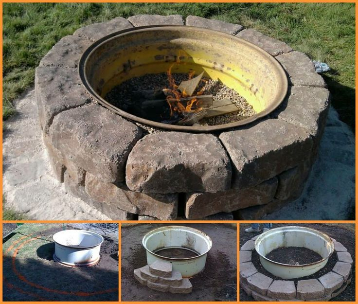 Backyard Landscaping Design Ideas-Fresh Modern and Rustic ... on Fire Pit Design  id=49366
