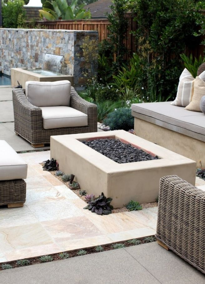 Backyard Landscaping Design Ideas-Fresh Modern and Rustic ... on Garden Ideas With Fire Pit id=68638