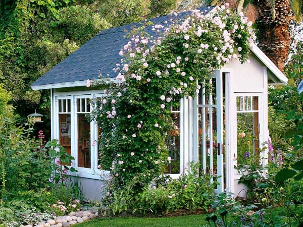 Backyard Landscaping Design Ideas-Charming Cottages and Sheds on Cottage Yard Ideas id=43911