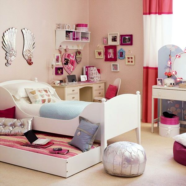 55 Creatively Inspiring Design Ideas for Teenage Girls Rooms on Room Decoration Girl  id=32279