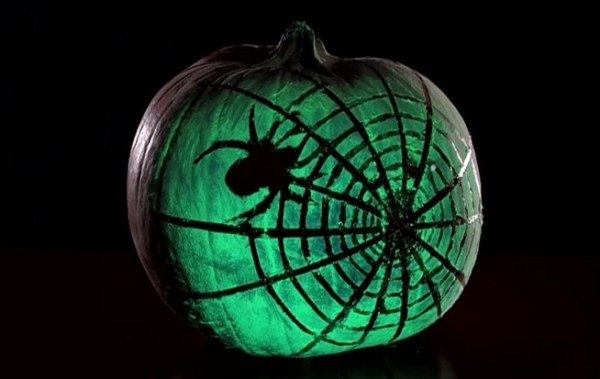 Image result for glow in the dark pumpkin