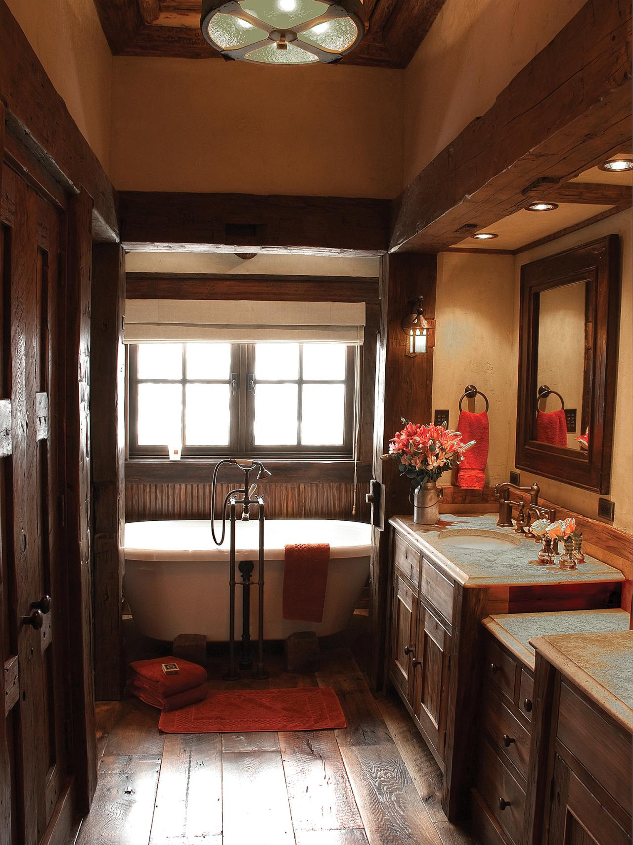 Add Glamour With Small Vintage Bathroom Ideas on Small Bathroom Ideas Pictures  id=50168
