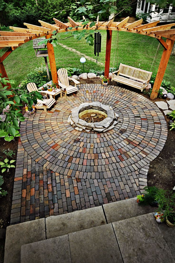 35 Smart DIY Fire Pit Projects - Backyard Landscaping Design on Fire Pit Design  id=42152