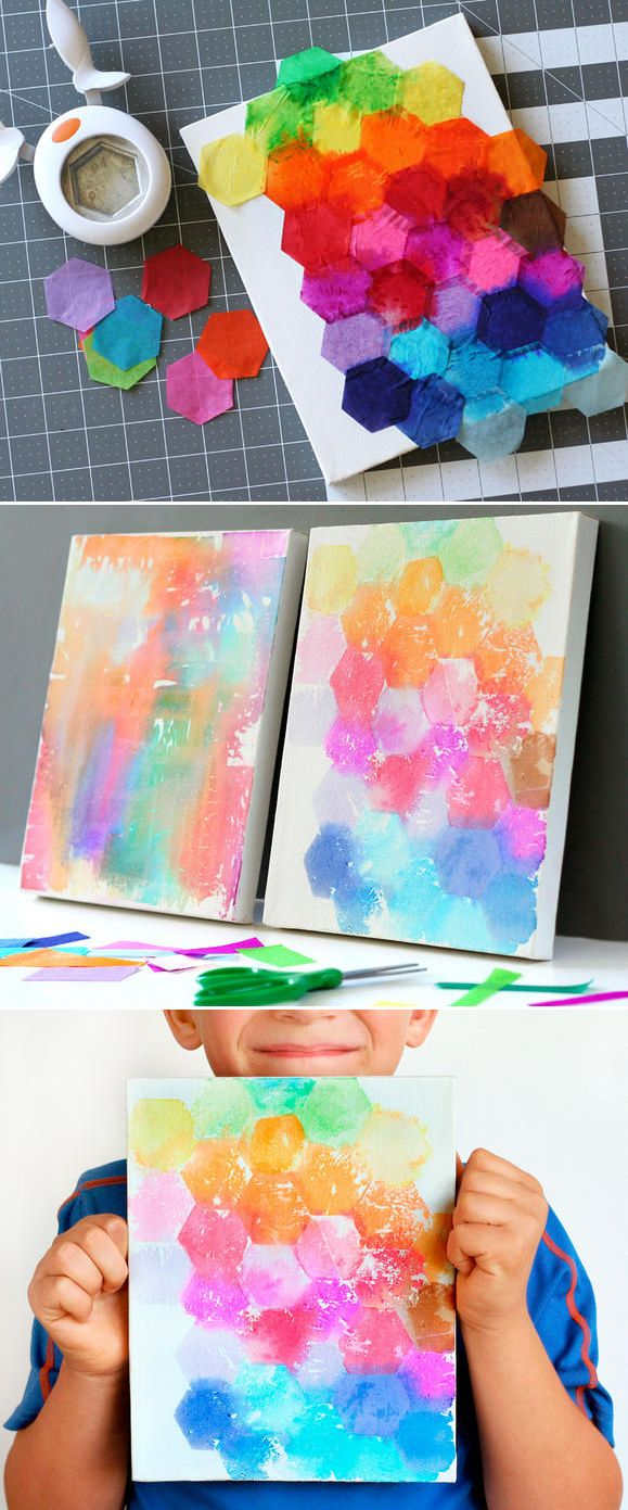 Creative Fun For All Ages With Easy DIY Wall Art Projects on Creative Wall Art Ideas  id=70493