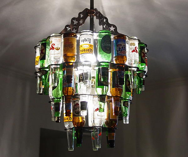 34 Fascinating Upcycling Diy Wine Bottle Projects To Refresh Your Interior Design