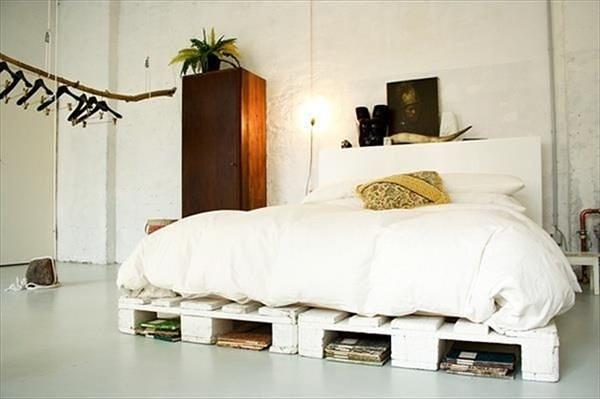 27 Ingeniously Beautiful DIY Pallet Bed Designs To ... on Bed Pallet Design  id=60884