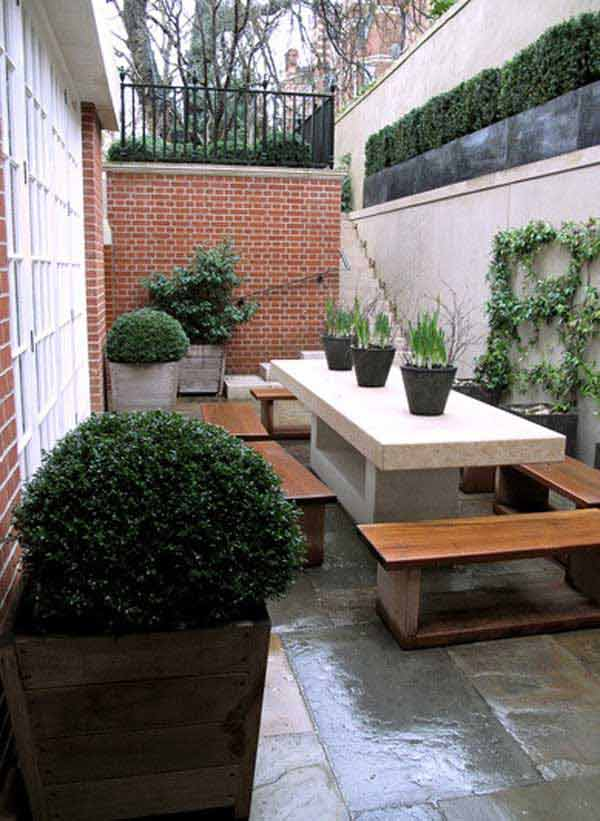 18 Beautifully Creative Landscaping Ideas For Narrow ... on Narrow Backyard Landscaping Ideas  id=49582