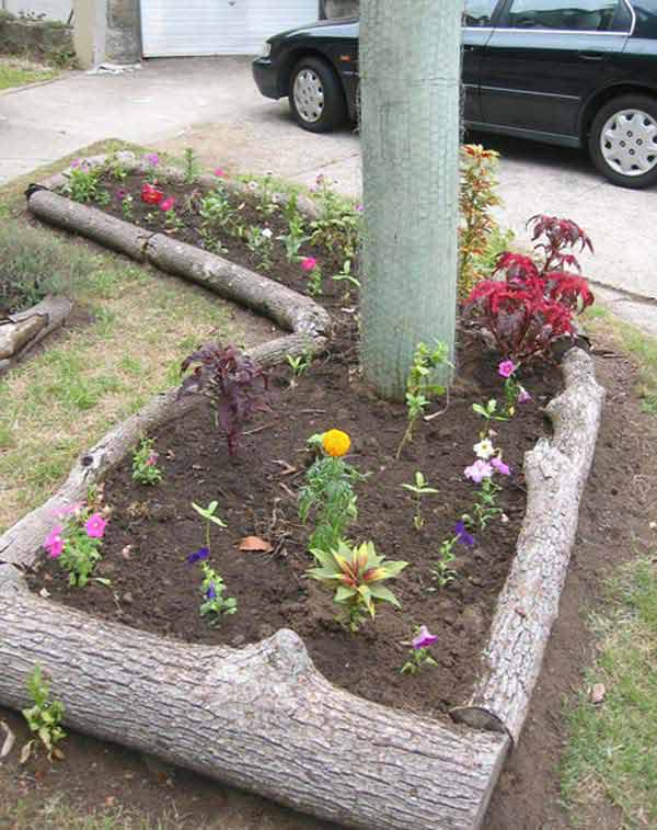27+ DIY Garden Bed Edging Ideas Ready to Emphasize Your ... on Backyard Border Ideas  id=38684