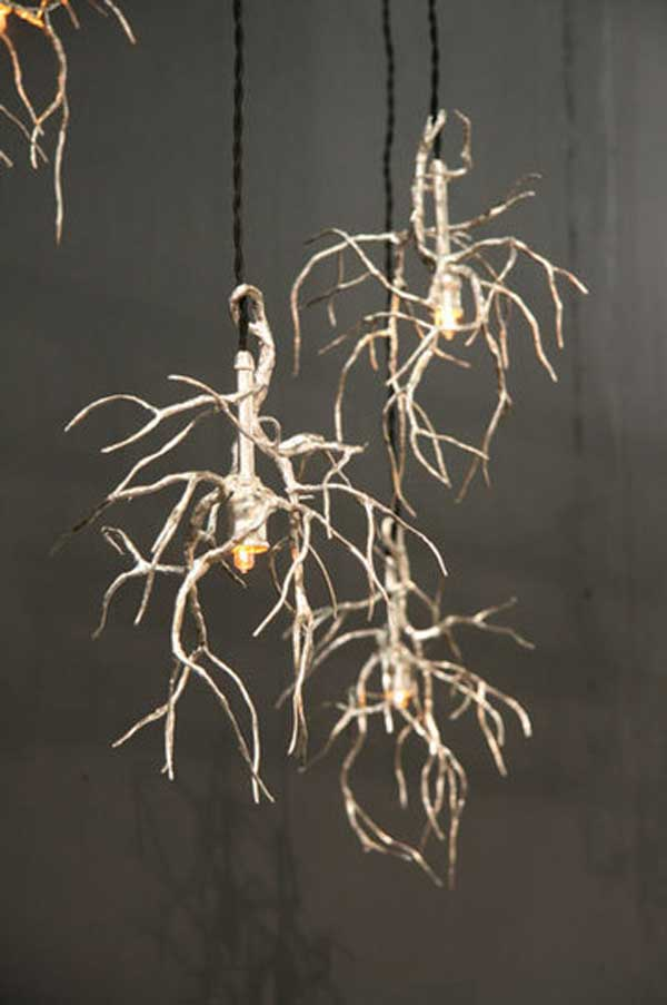 30 Sculptural Diy Tree Twigs Chandeliers To Realize In An Unforgettable Setup Homesthetics Decor 31