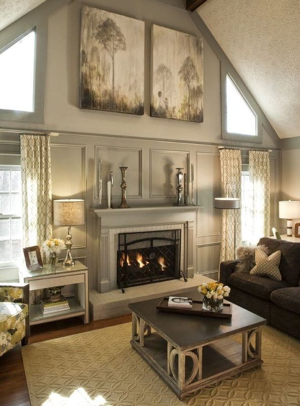 16 Ways To Add Decor Your Vaulted Ceilings Homesthetics 5