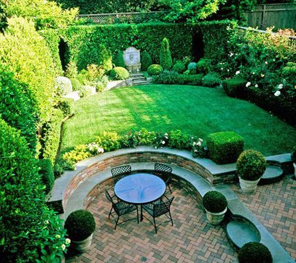 23 Simply Impressive Sunken Sitting Areas For a ... on Landscape Design Small Area id=52753