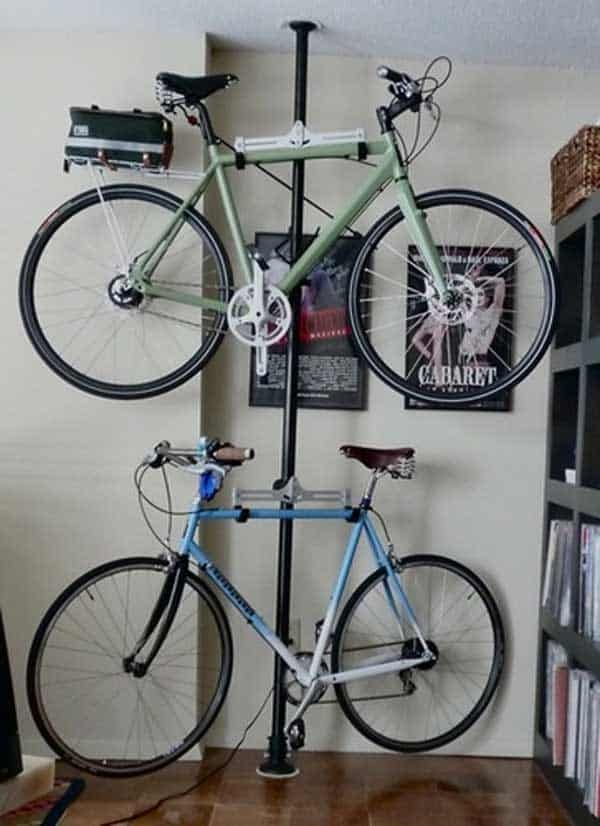 27 Design Ideas on How to Decorate With Bikes in Your Household 27 Design Ideas on How to Decorate With Bycicles in Your Household  homesthetics decor