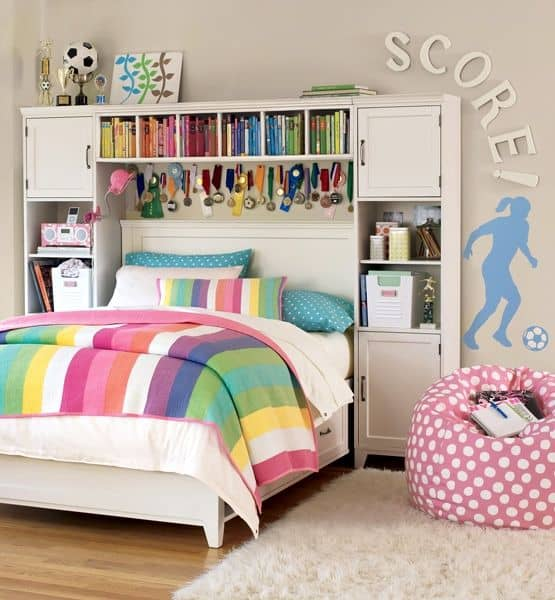 18 Teenage Bedroom Ideas Suitable For Every Girl ... on Teen Room Girl  id=64346
