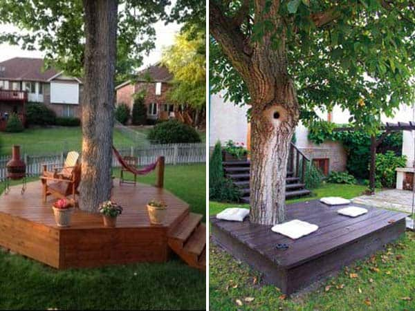15 Stunning Low-budget Floating Deck Ideas For Your Home ... on Floating Patio Ideas id=85366