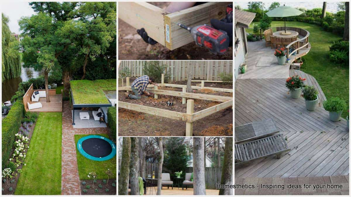 15 Stunning Low-budget Floating Deck Ideas For Your Home ... on Floating Patio Ideas id=47121