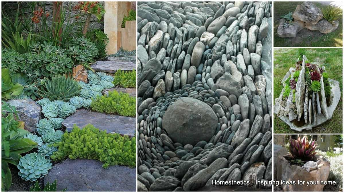 Rock Garden Ideas To Implement In Your Backyard ... on Small Garden Ideas With Rocks id=87008