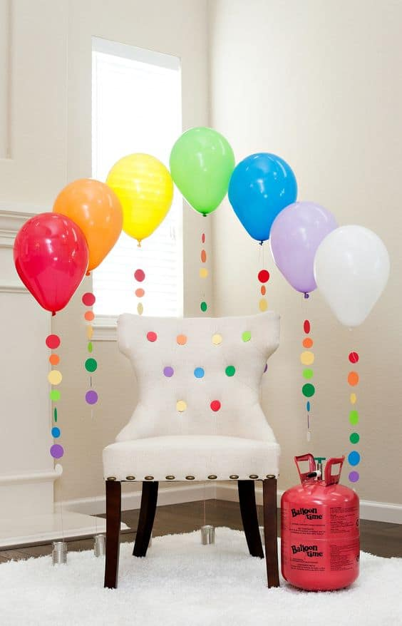 35 Simply Splendid DIY Balloon Decorations For Your ...