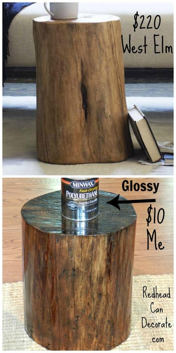 39 spectacular tree logs ideas for cozy