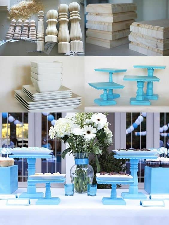 57 Insanely Beautiful DIY Cake Stand Designs To Realize