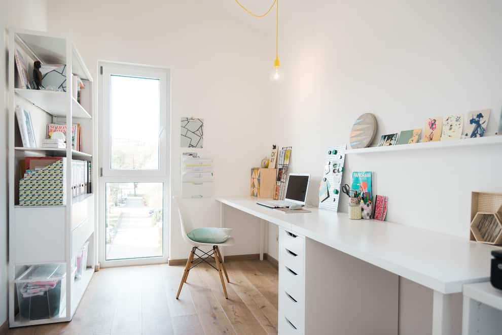 20 Irresistible Scandinavian Home Offices That Will Boost