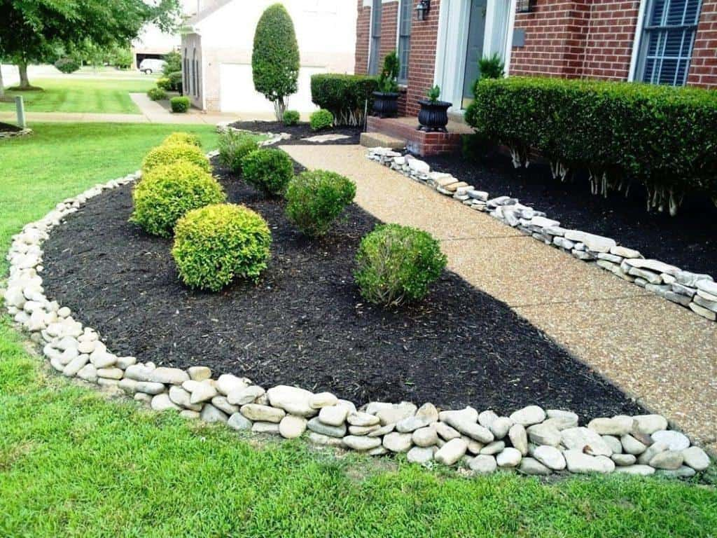 21 Incredible Pebble Landscapes That Will Enhance Your ... on Pebble Yard Ideas id=21868