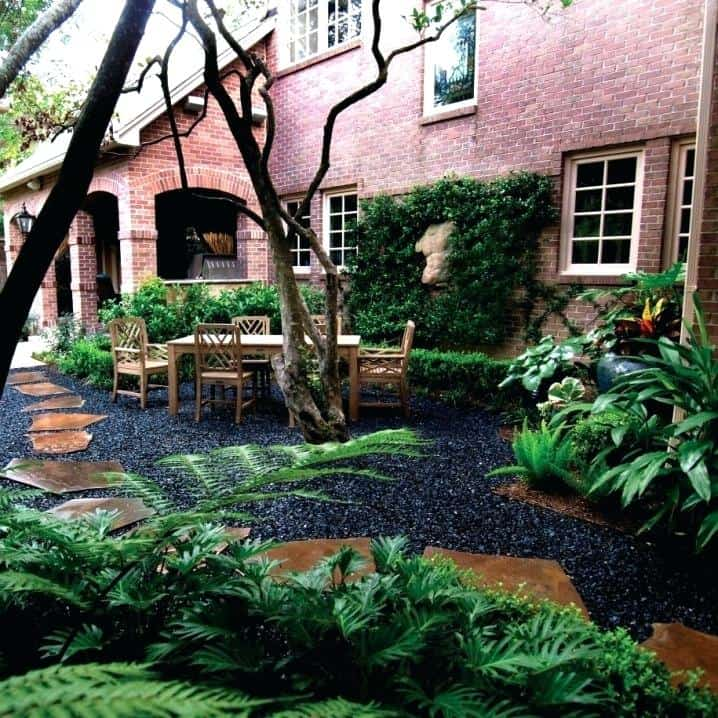 21 Incredible Pebble Landscapes That Will Enhance Your ... on Pebble Yard Ideas id=31212