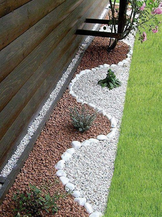 21 Incredible Pebble Landscapes That Will Enhance Your ... on Pebble Yard Ideas id=87979