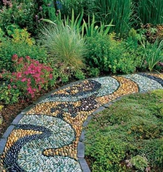 21 Incredible Pebble Landscapes That Will Enhance Your ... on Pebble Yard Ideas id=71846