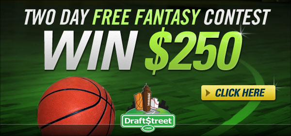 Two day FREE Fantasy Contest – win $250 in cash prizes