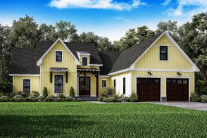 Country House Plans   Country Farm Cottage House Plans Plan
