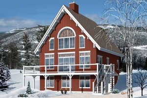 Chalet House Plans   Swiss Style Chalet Homes Plan