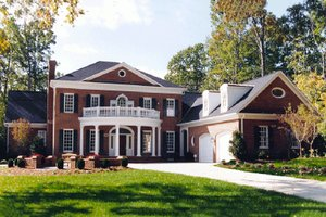 Adam   Federal House Plan Designs at BuilderHousePlans com Plan