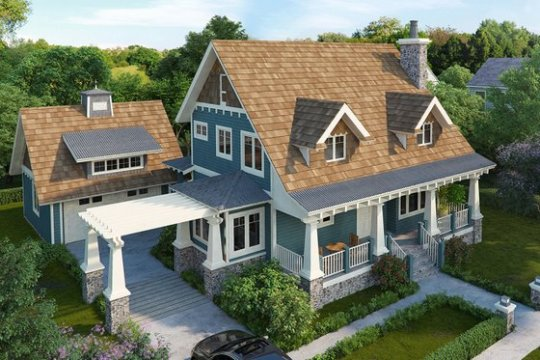 Find Floor Plans  Blueprints   House Plans on HomePlans com Craftsman Home Plans